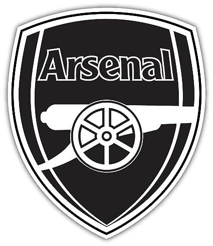 arsenal logo black and white