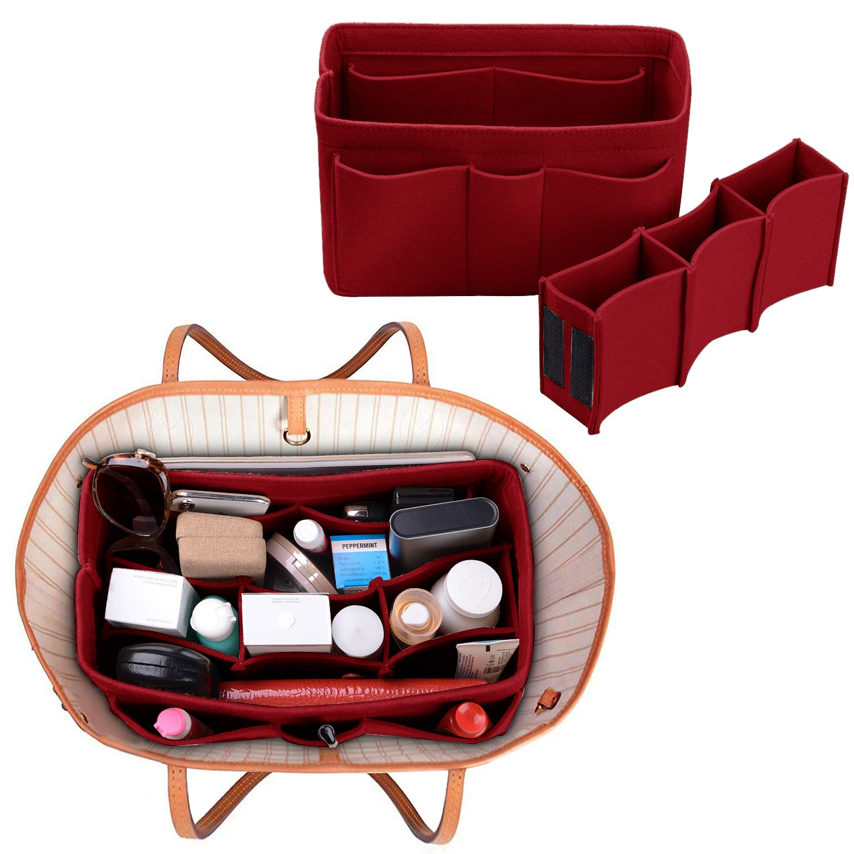 Felt(3MM) Fabric Purse Organizer Insert for Purse Handbag Tote Bag, 3 Sizes, 8 Colors by ETTP (Image #5)