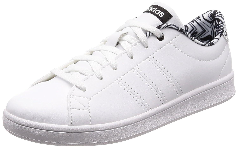 adidas Damen Advantage Clean QT Fitnessschuhe  42 EU|Wei? (Ftwbla/Ftwbla/Negbas 000)