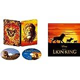 【Amazon.co.jp限定】ライオン・キング 4K UHD MovieNEX スチールブック(オリジナルウォッシュタオル付き) [4K ULTRA HD+ブルーレイ+デジタルコピー+MovieNEXワールド] [Blu-ray]