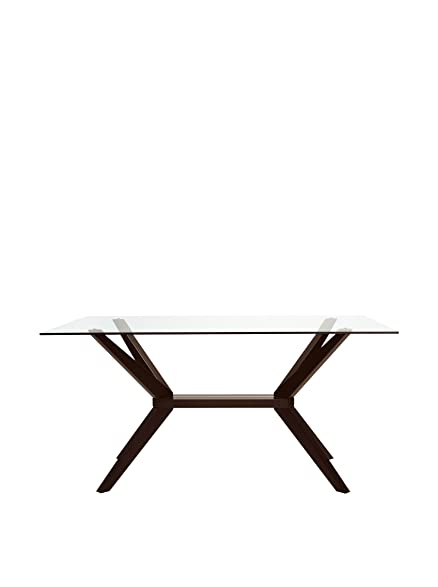 Amazoncom AEON Furniture Greenwich Dining Table in Coffee Tables