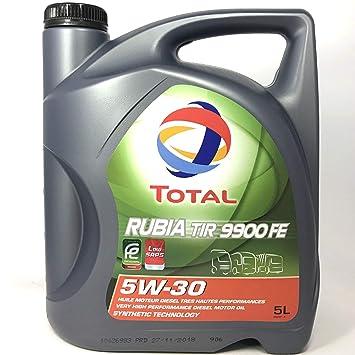 Rubia TIR 9900 FE 5W-30 - Aceite para Motor (5 L): Amazon.es: Coche y moto