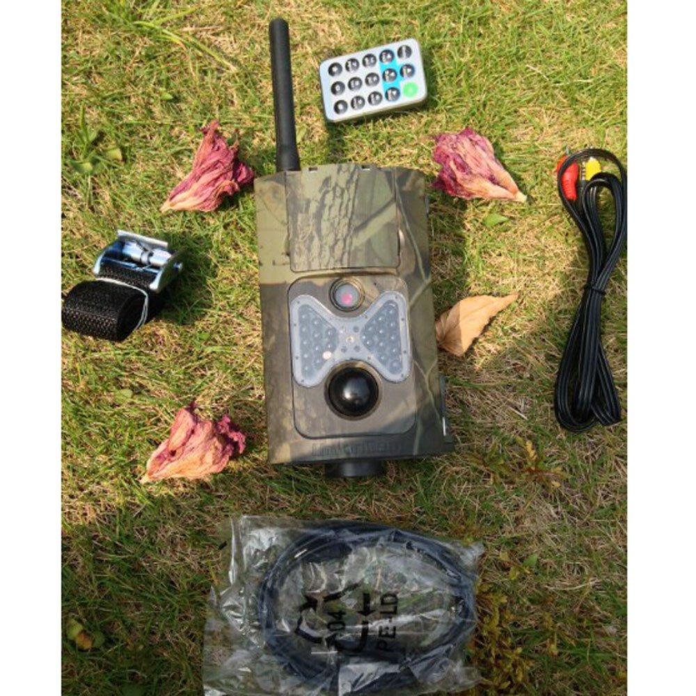 Dreamyth HC500G 5MP PIR HD Digital Wildlife Hunting Camera 2-inch LCD 3G GSM MMS SMS Practical (army green)