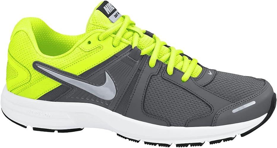 Nike N98, Chaussures de Running Homme, Gris foncéVert Lime