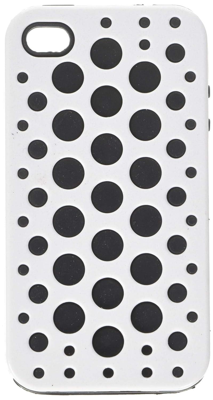 Cellallure CASND62-01N iPhone 4 / 4S用スナップオンケース - 1パック - リテール包装 - ホワイト   B009YOHJLG