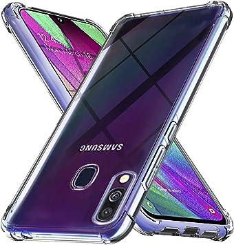 Ferilinso Funda para Samsung Galaxy A40 Funda,[Reforzar la versión ...