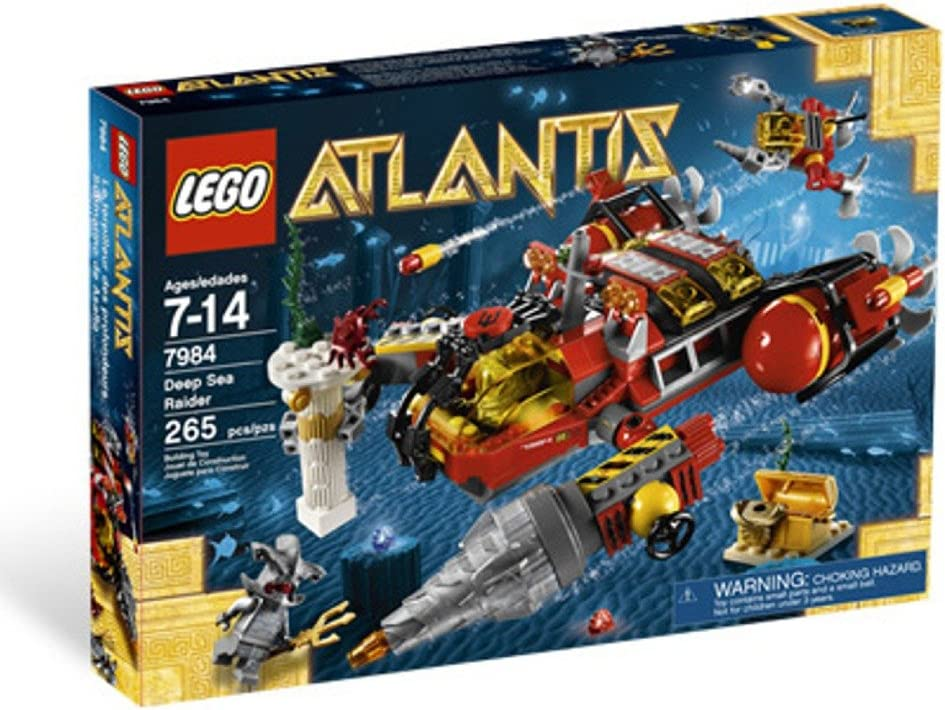 LEGO Atlantis Deep Sea Raider 7984 Y