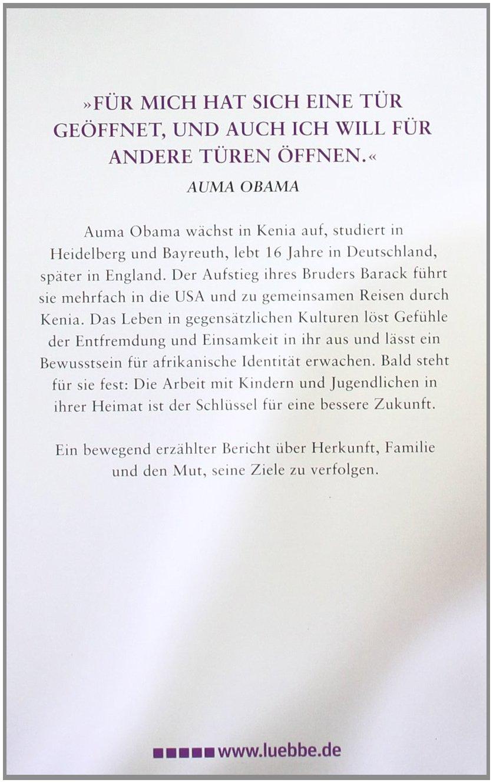 Das Leben Kommt Immer Dazwischen Stationen Einer Reise Lubbe Biographien Amazon De Obama Auma Bucher