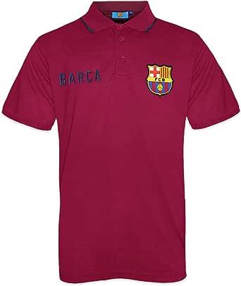 FC Barcelona - Polo oficial para hombre - Con el escudo del club ...