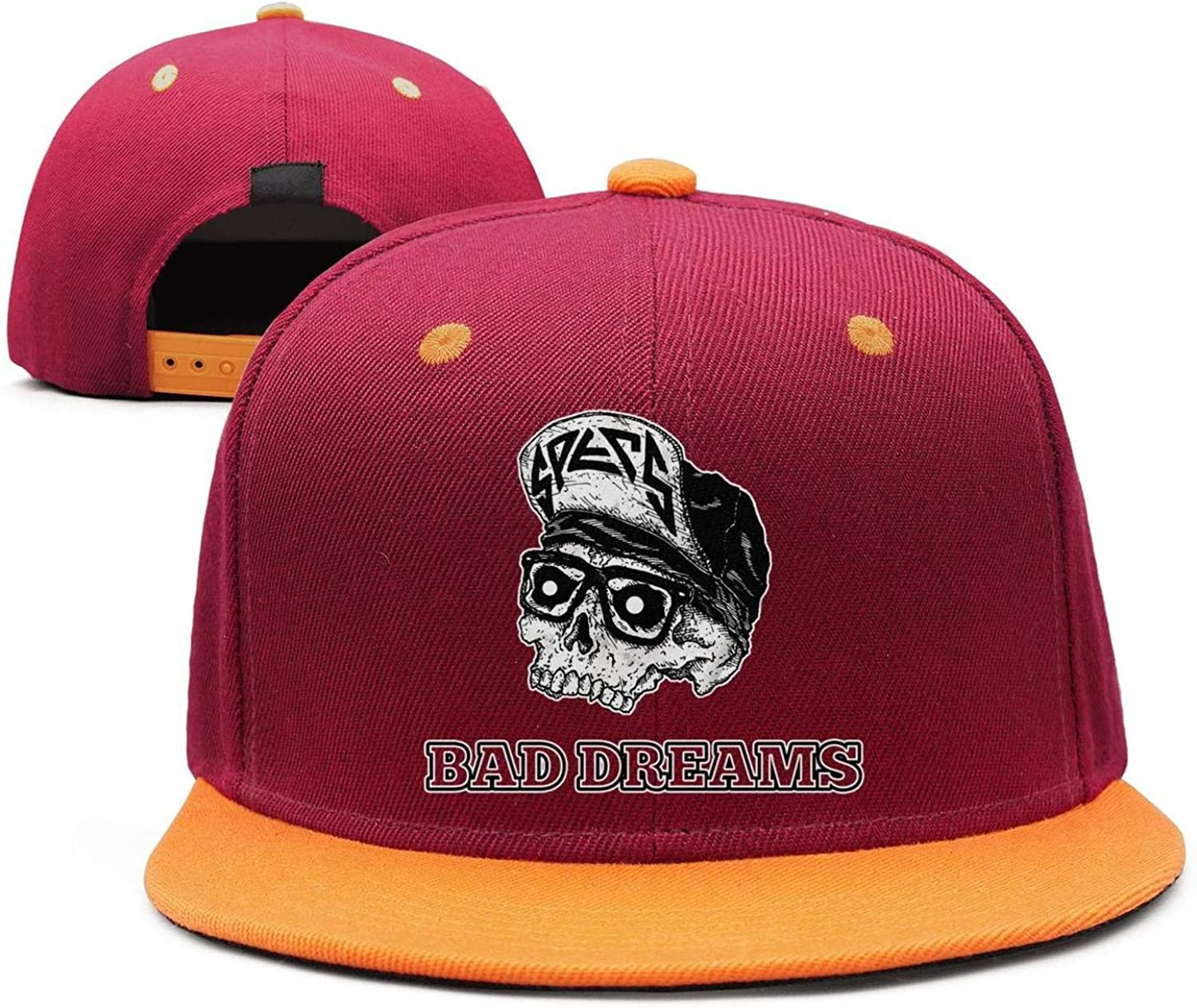 JesseKeats Man Bad-Dreams-Swollen Snapback hat Trucker Hats Sports Caps