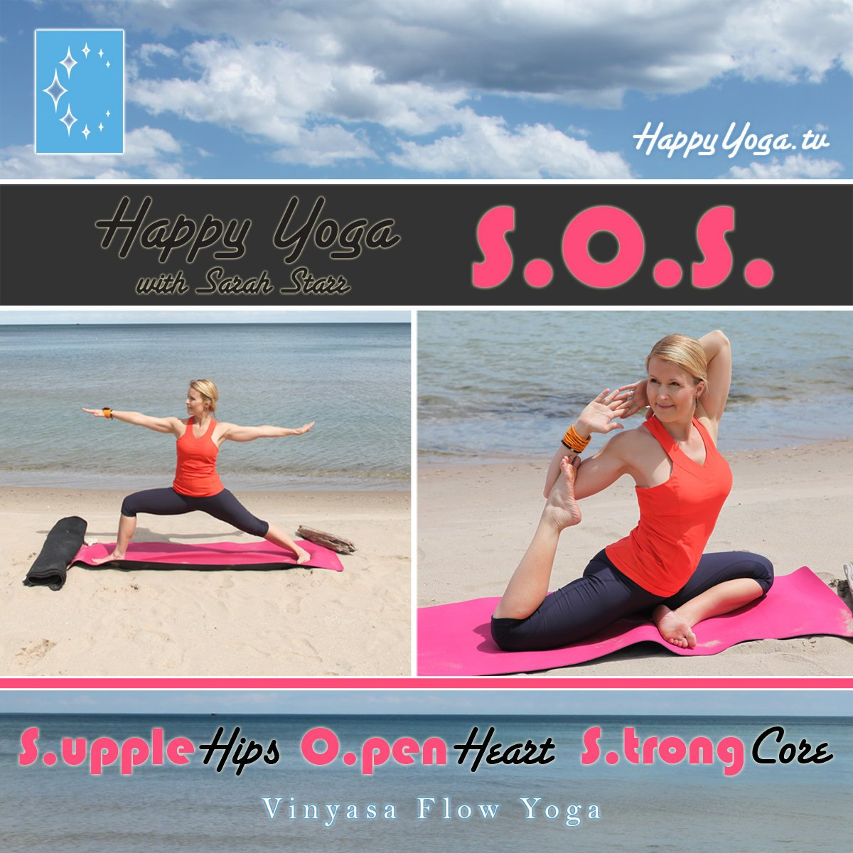 Amazon.com: Happy Yoga with Sarah Starr S.O.S.: ---