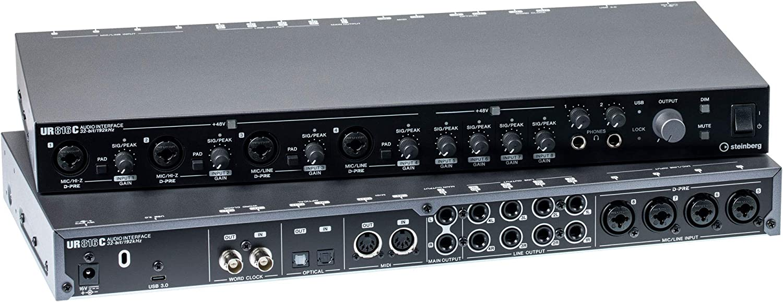 Steinberg UR816C (B) UK USB Audio Interface: Amazon.co.uk: Musical ...