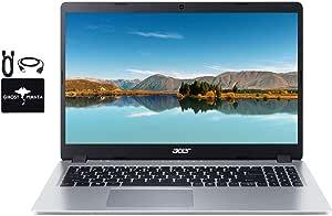 2020 Newest Acer Aspire 5 Slim Laptop 15.6 FHD IPS Display, AMD Ryzen 3 3200u (up to 3.5GHz), Vega 3 Graphics, 8GB RAM, 128GB PCIe SSD + 500GB HDD, Backlit KB,WiFi,HDMI, Windows 10 w/GM Accessories