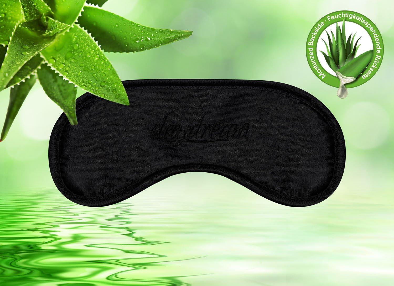 Noir 20/x 9/x 1,5/cm de Coton polyur/éthane V Daydream Premium Masque de Sommeil avec Aloe Vera de arri/ère 6003/de et Coussin rafra/îchissant