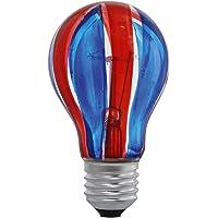 Eglo 85936 E27 40W Ampül, Kırmızı/Mavi