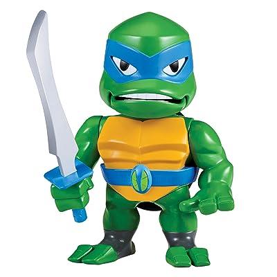 Rise of the Teenage Mutant Ninja Turtles Leonardo Babble Head Figure, Multi: Toys & Games