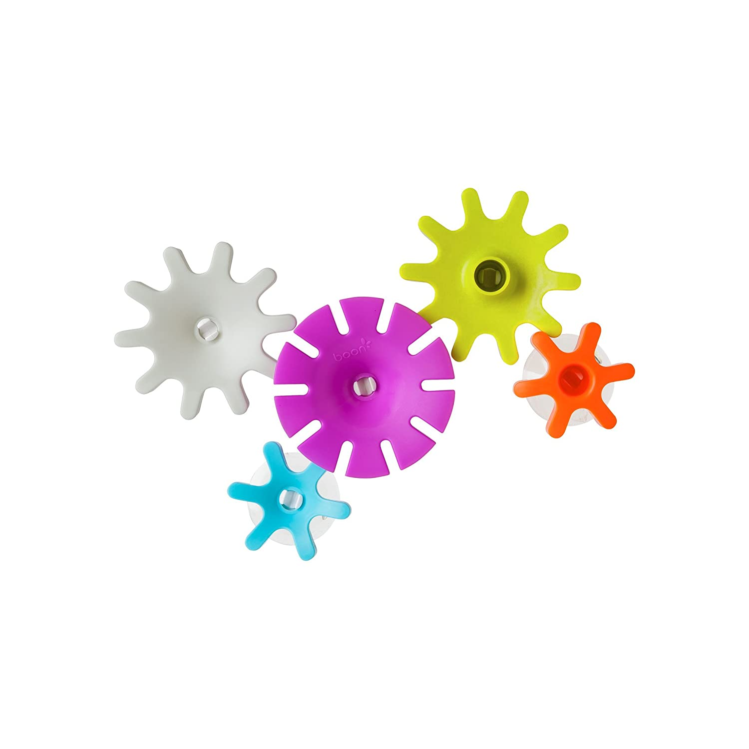 Boon Multicoloured Cogs Gears Bath Toy Tomy B11134