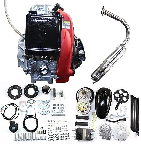 ONEPACK 49cc 4 Stoke Motor Kit para Bicicleta Motorizada Gas Motor ...