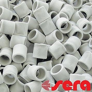 Sera Siporax - Filtro de cerámica para Estanque o Acuario (25 mm): Amazon.es: Productos para mascotas