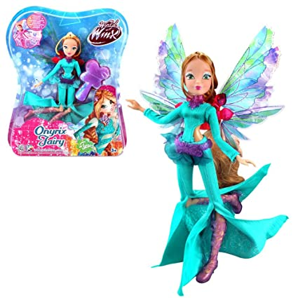 Amazon com: Winx Club Flora | Onyrix Fairy Doll | | World Winx