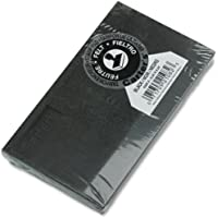Avery Carter's Felt Stamp Pad, Black, 3.25 inch x 6.25 inch (21082)