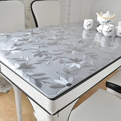 d07908c17d0 AMYDREAMSTRORE Waterproof Oil-proof High temperature resistance Disposable  Thickened pvc table cloth