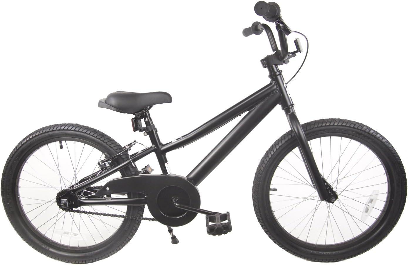 The Knight Loco Kids Aluminum Bicycle Boys 20 Black