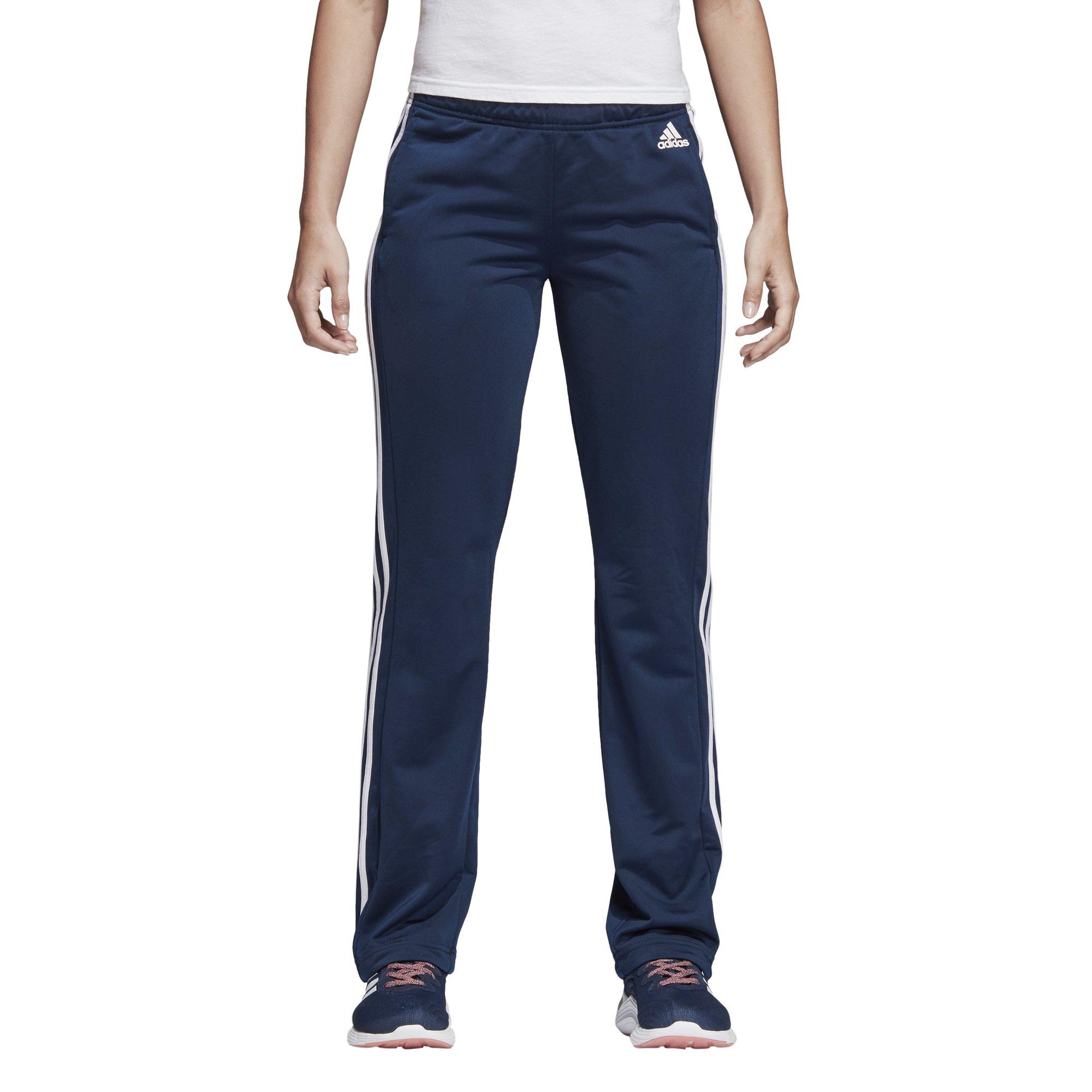 adidas Women's Designed 2 Move Straight Pants, Collegiate Navy/White, X-Small