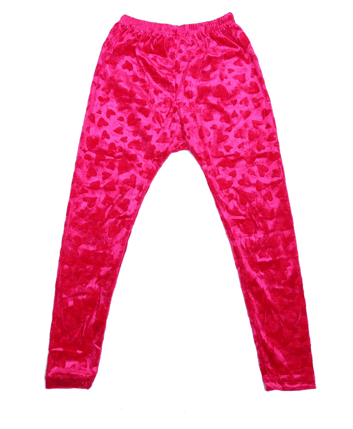 Indistar Kids Embossed Multicolor Leggings Combo Pack of 2