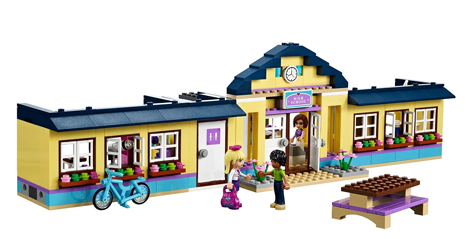 Lego Friends 41005 Heartlake High Amazoncouk Toys Games