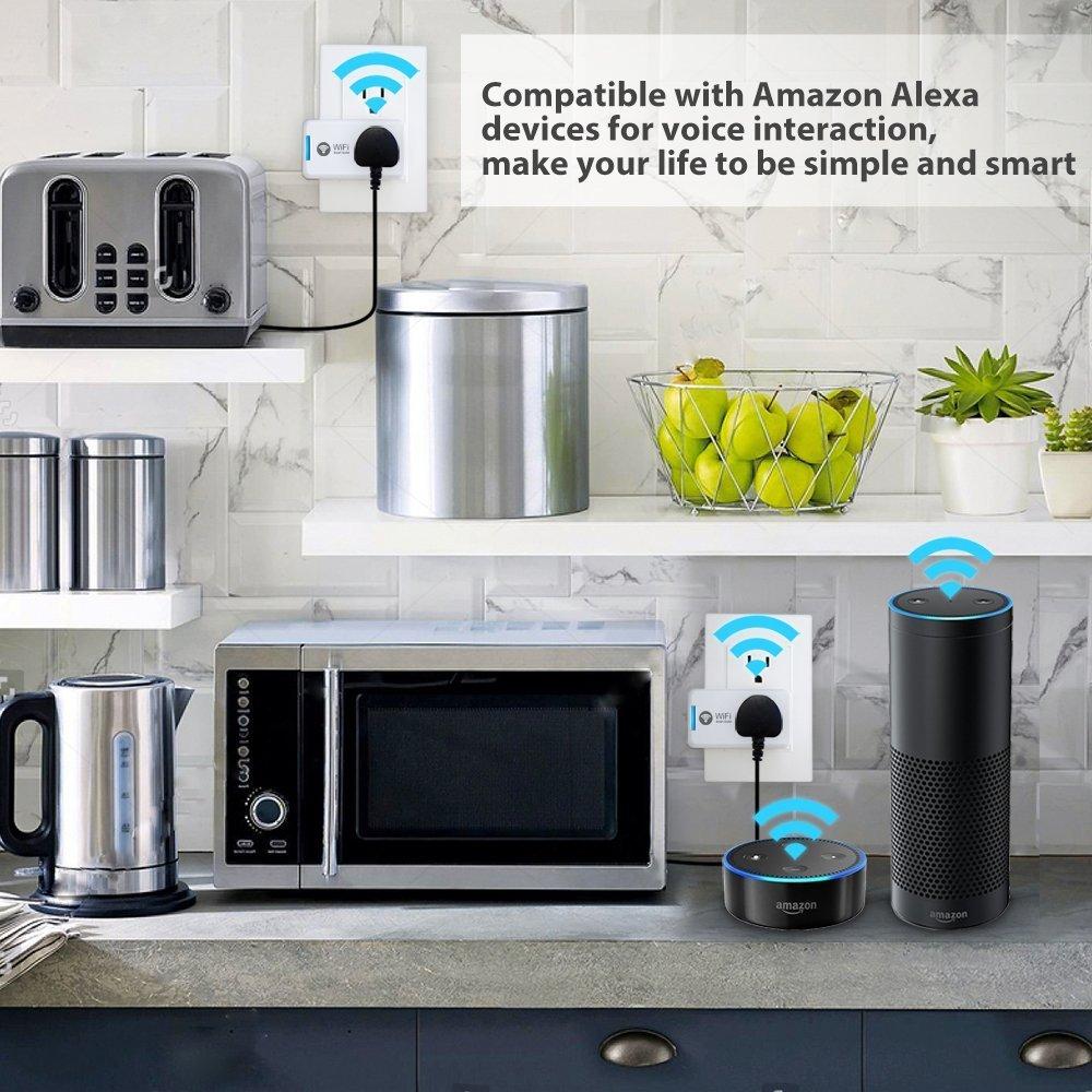 Smart Home WiFi Fernbedienung Drahtlos Strom Schalter Switch ...
