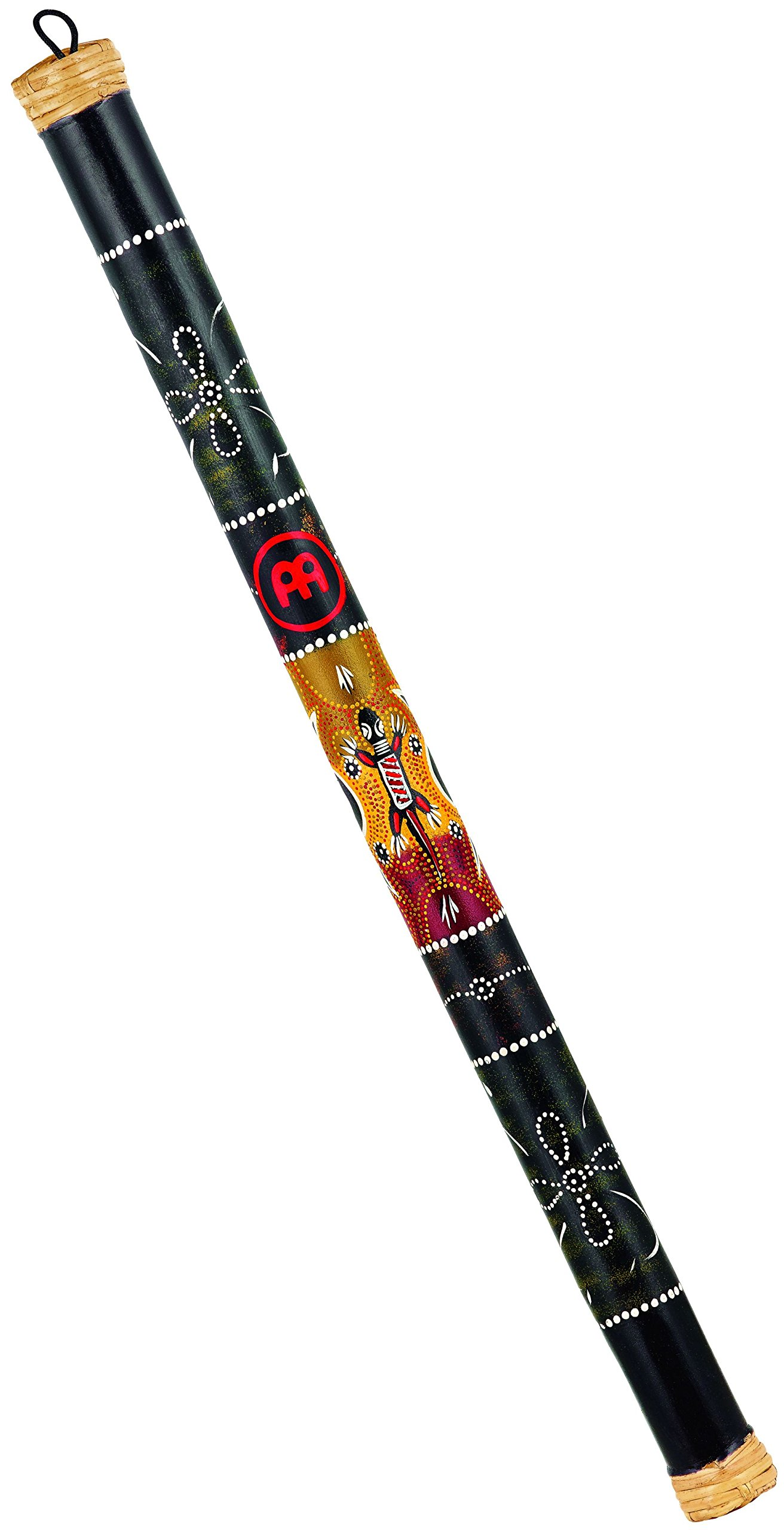 Meinl Percussion RS1BK-M/L 31.5'' Med/Large Bamboo Rain Stick with Sustaining Trickle Effect and Hand Painted Design by Meinl Percussion
