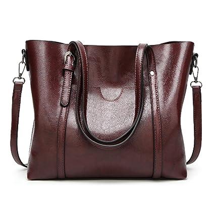 LoZoDo Women Top Handle Satchel Handbags Shoulder Bag Tote Purse 2eeaf201d0078