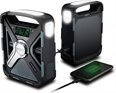 Eton FRX5 BT Emergency Weather Bluetooth Radio