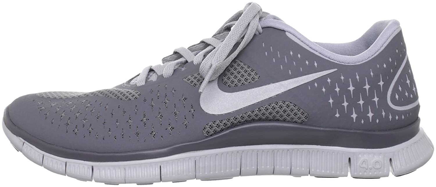Amazon.com | Nike Free 4.0 v2 Mens Running Shoes 511472-002 Wolf Grey 7.5 M US | Road Running