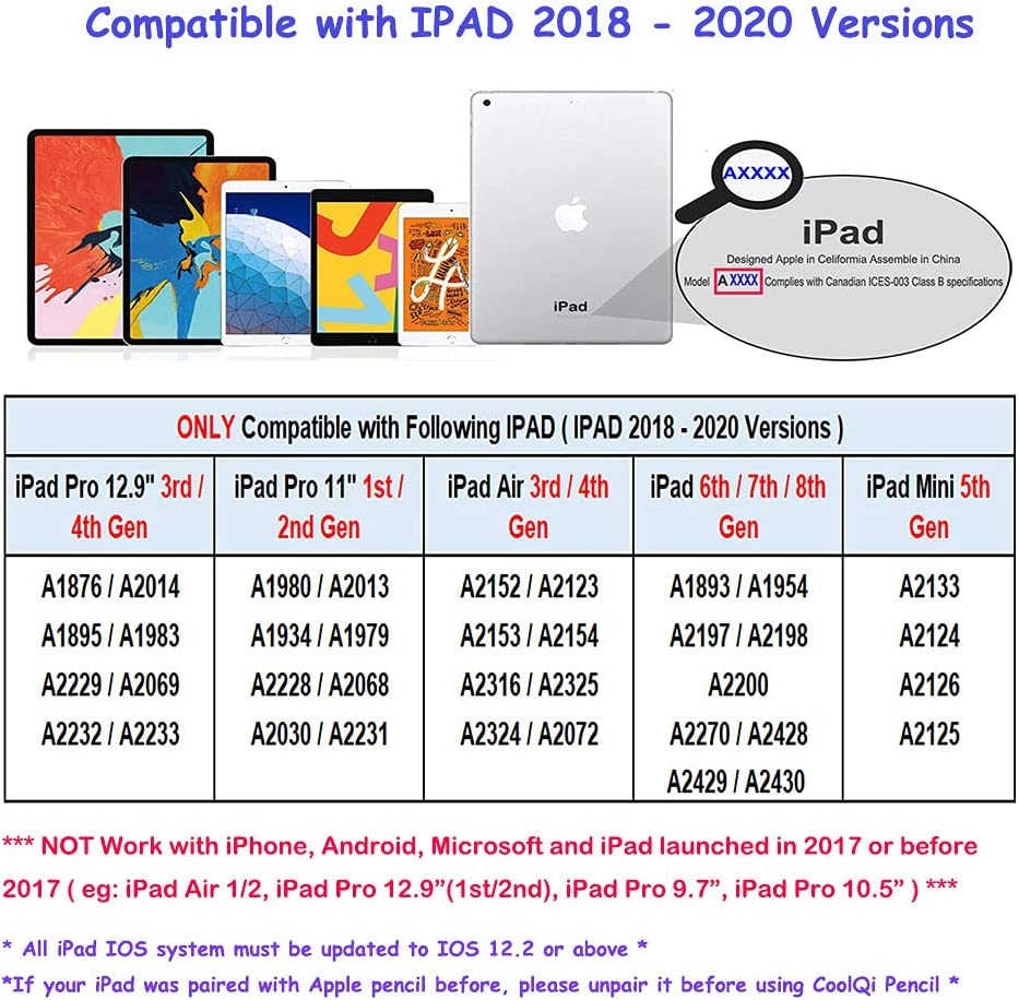 gaixample.org Tablet Accessories Accessories 1/2 gen ,iPad 6/7/8th ...