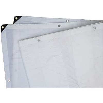 Heavy Duty White Tarp 6 Oz., 6'X10'