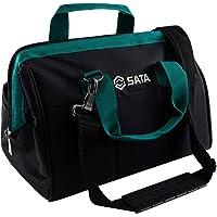 SATA Bolsa de ferramentas portátil de 33 polegadas com estrutura impermeável e vários bolsos internos e externos…