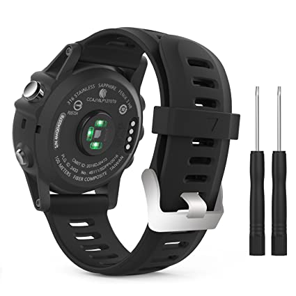 Amazon.com: Banda de Repuesto para Garmin Fenix 3 Fitness ...