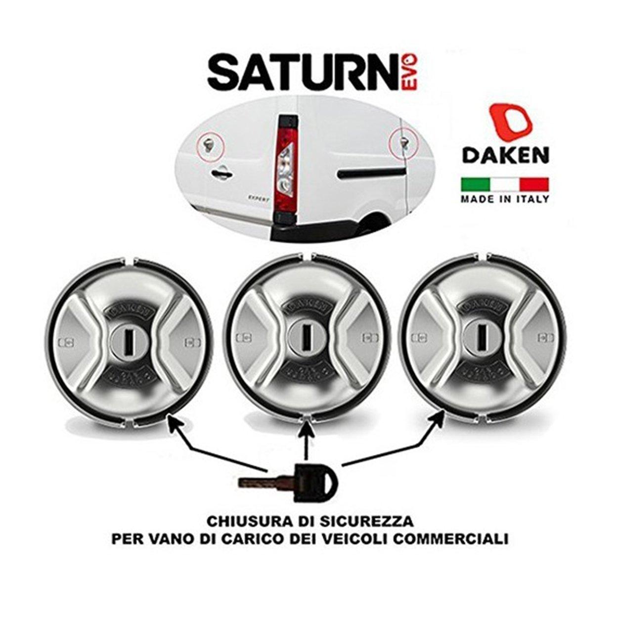 Daken Serrure renforc/ée Saturn Evo Triple