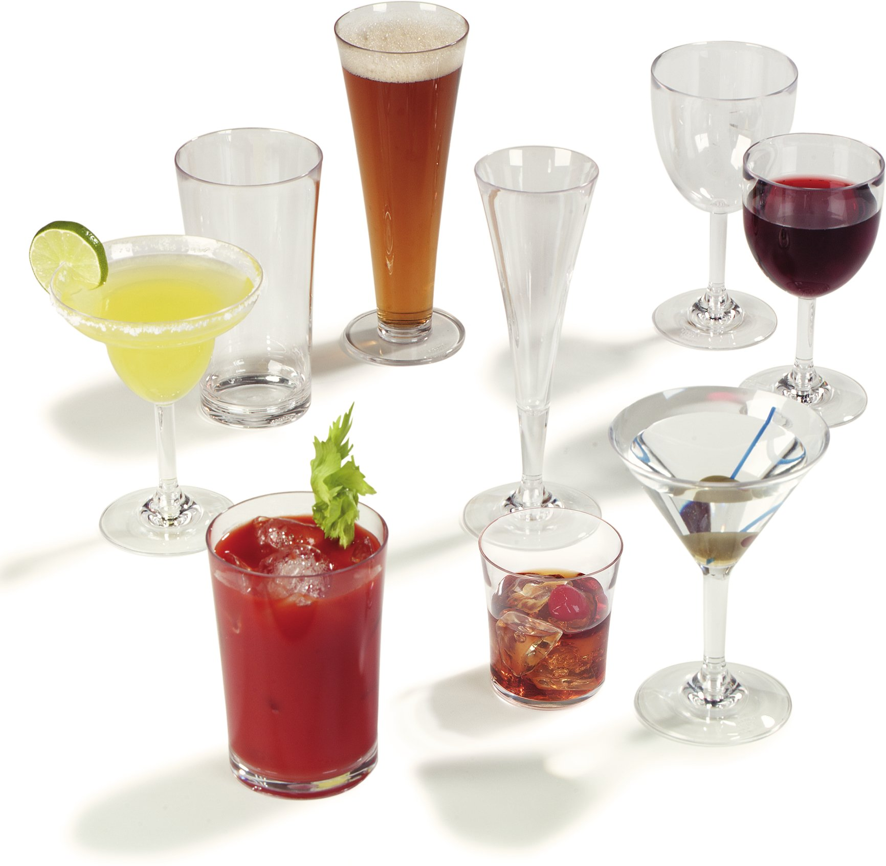 Carlisle 4362707 Liberty Polycarbonate Martini Glass, 8-oz. Capacity, Clear (Case of 24) by Carlisle (Image #9)