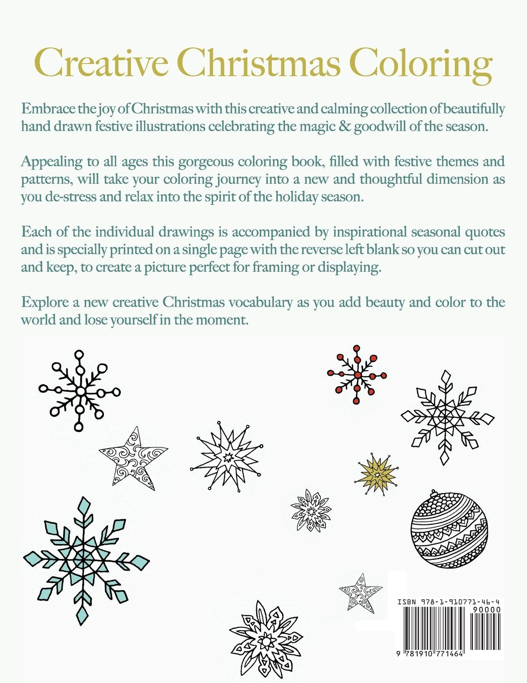 Amazon Creative Christmas Coloring Classic Themes And Patterns For A Peaceful Relaxing Holiday Season The Perfect