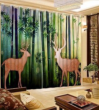 Sproud Moderne Vorhang Fur Wohnzimmer Neue Starke Bambusvorhang