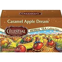 Celestial Seasonings Herbal Tea, Caramel Apple Dream, 20 Count (Pack of 6)
