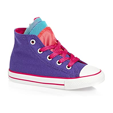 32320d36ee29a7 Converse CT Party HI PER Periwinkle Infants 747669C UK 2-9  Amazon ...