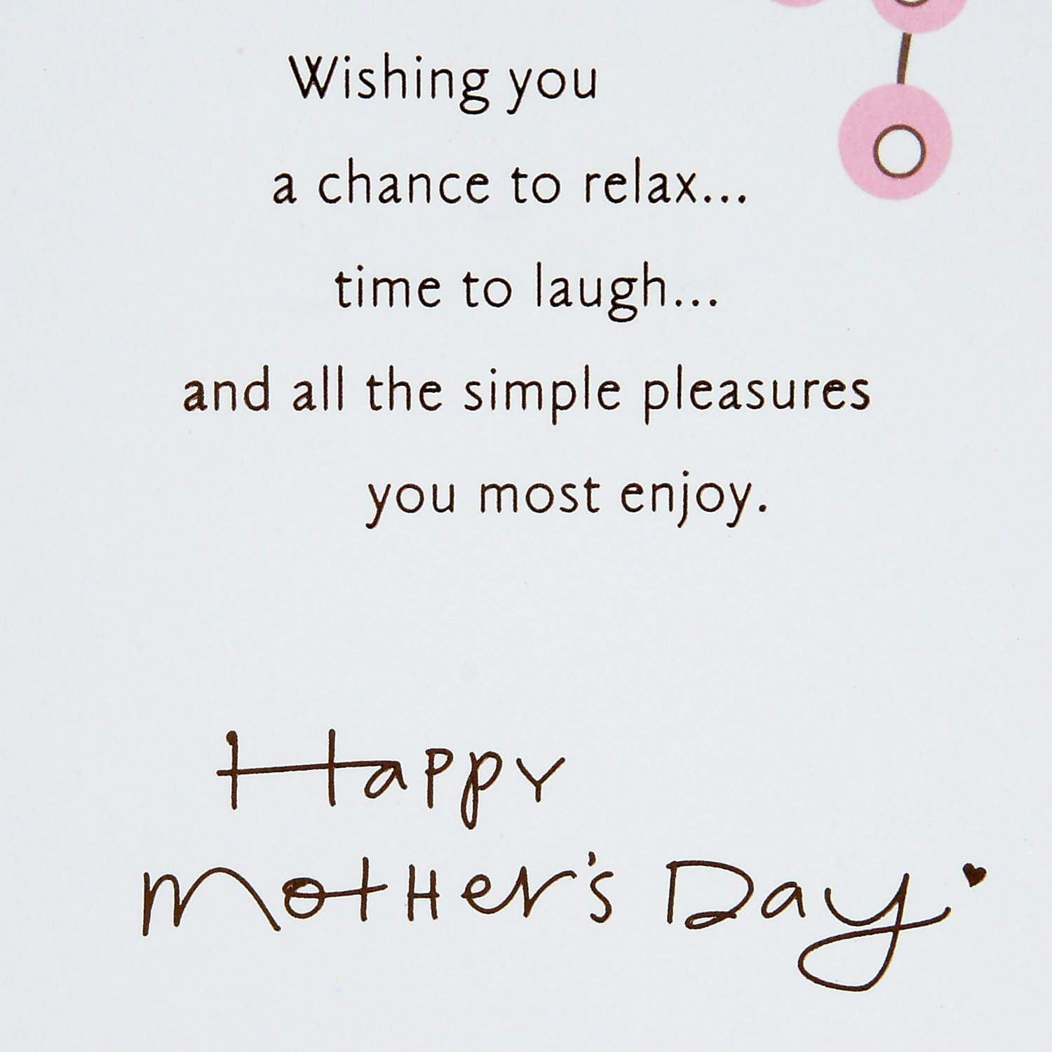 Hallmark Mothers Day Greeting Card Enjoy Your Special Day