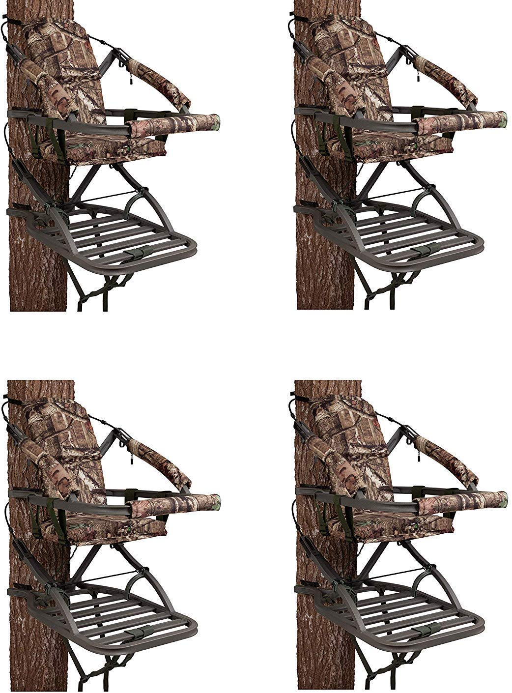 Summit Treestands 81120 Viper SD Climbing Treestand, Mossy Oak (Pack of 4) by Summit Treestands