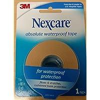 Nexcare Absolute Waterproof Wide Tape, 1.5' X 5 yd. Per Roll (4 Rolls)