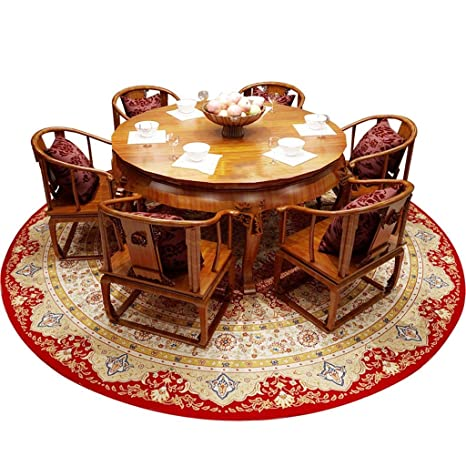 Amazon.com: CXZS-carpet Area Rugs Round Rug American-Style ...