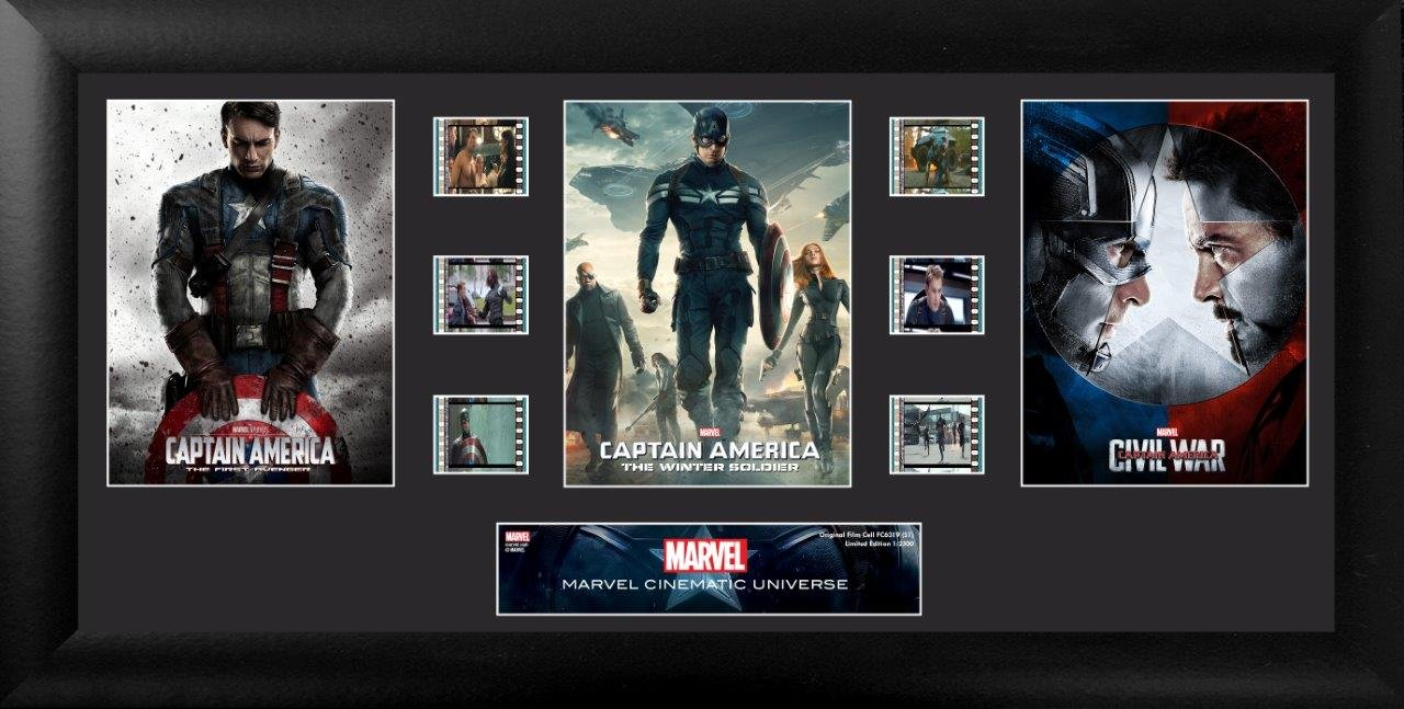 Captain America Mixed (S1) Trilogy by Filmcells Ltd